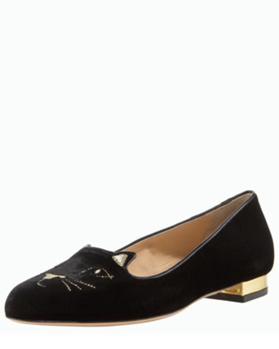 Rétro Chaussures Noires Femmes Charlotte Olympia Rétro xc7Ih