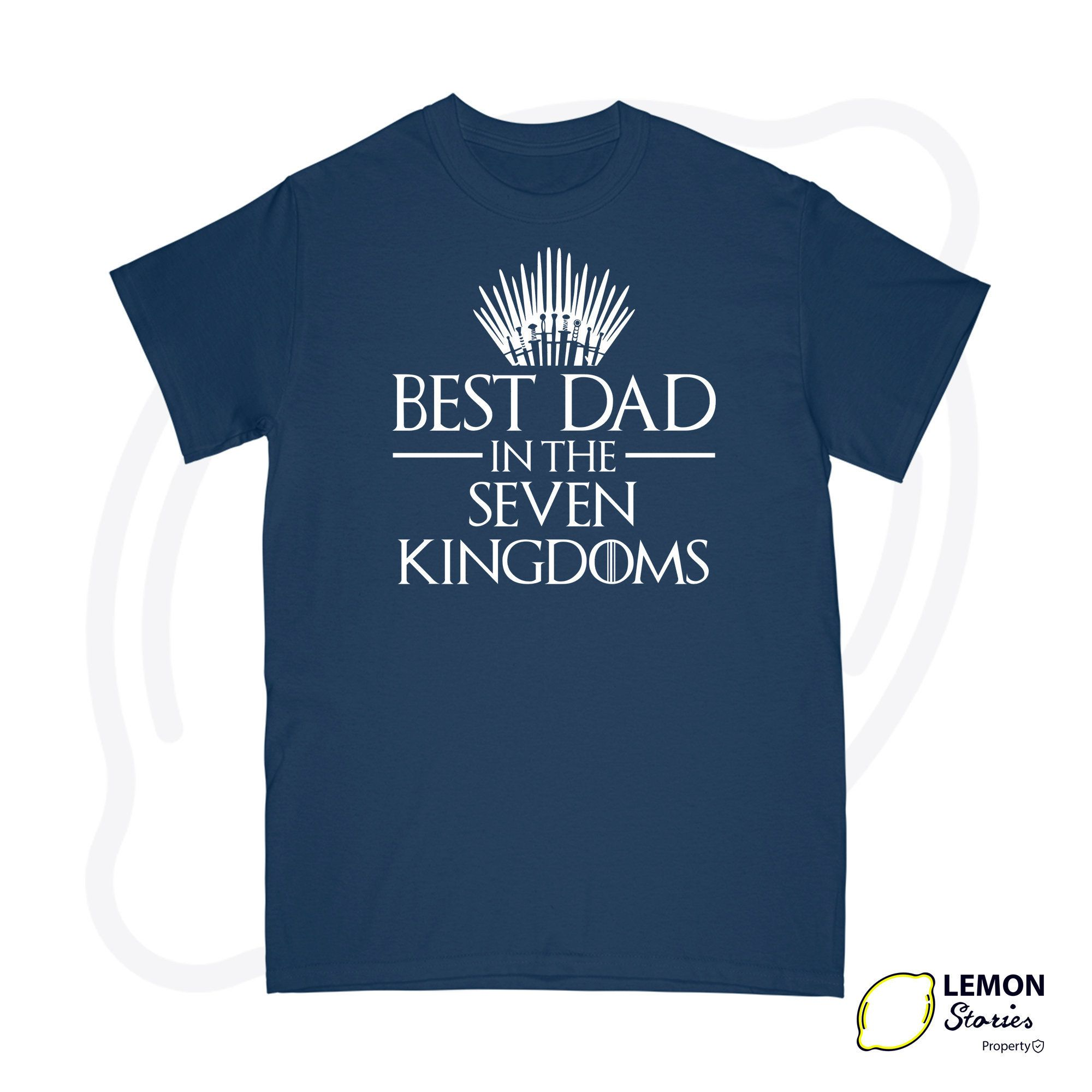 Best dad in the seven kingdoms king in the north shirt