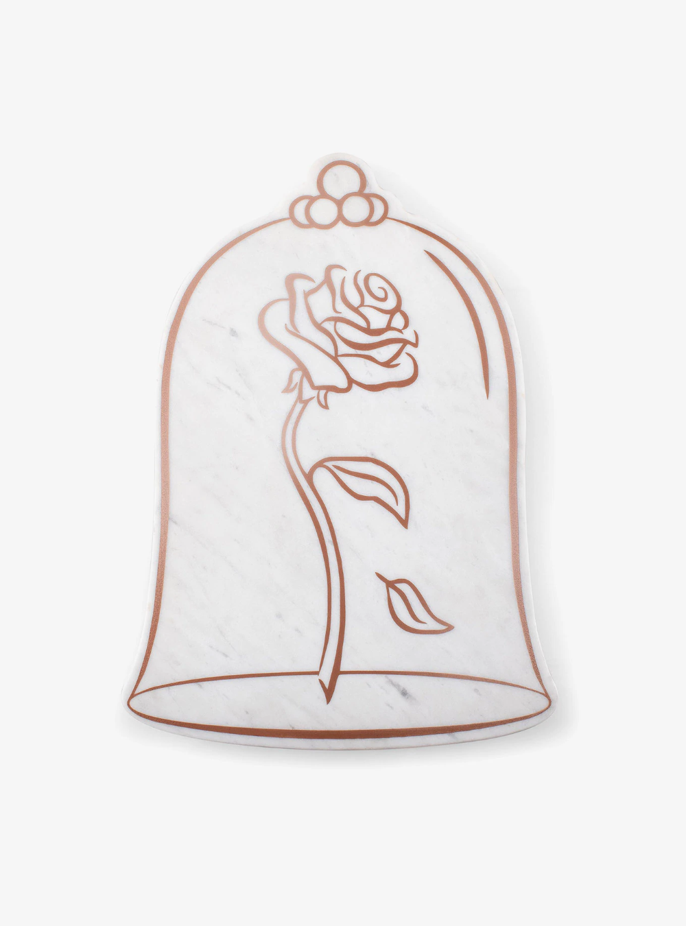 Disney Beauty And The Beast Marble Serving Stone