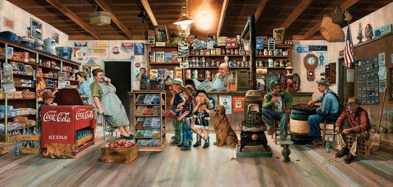Little Shoppers | PuzzleWarehouse.com