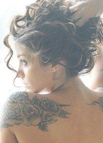 famous inked models hope mitchell tatoo tattoos shoulder rh pinterest com