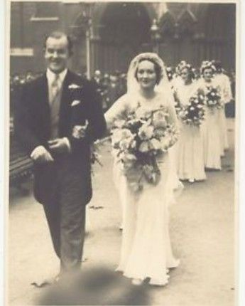 Wedding Photograph Frances Helen Sweeny - Charles Manners 10th Duke Rutland (2)