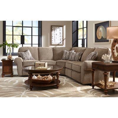 Lane Furniture Megan Reclining Sectional Reviews Wayfair