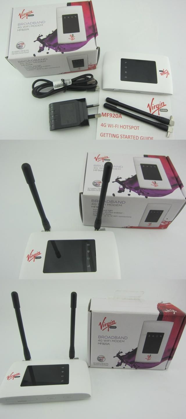 Visit to Buy] Unlocked New ZTE MF920 MF920A with Antenna 4G
