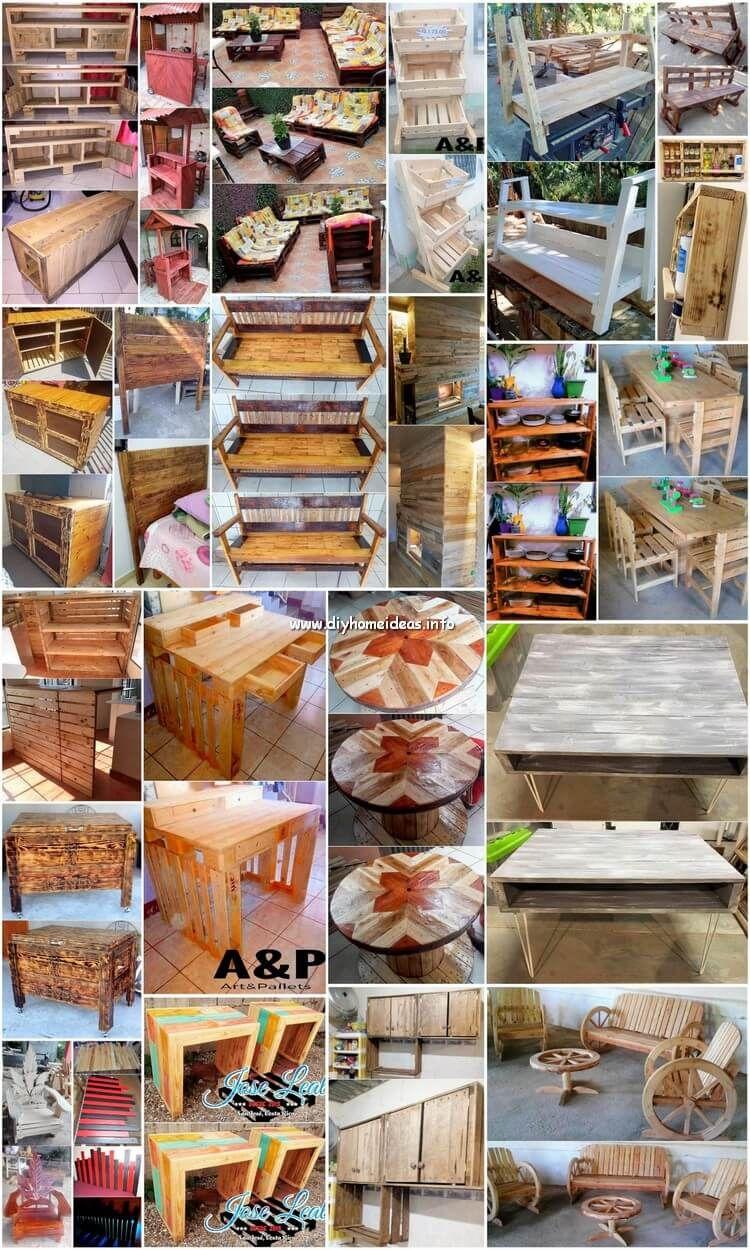 Diy Wood Pallet Furniture Designs And Pallet Craft Ideas Wood