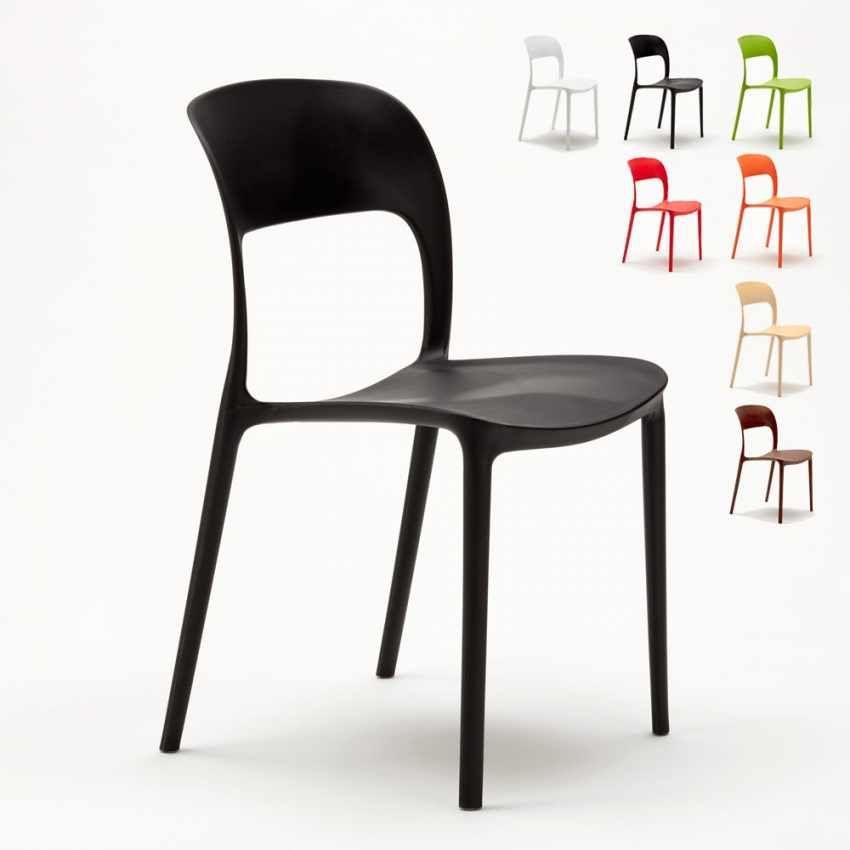 Sedie Per Cucina Offerta.Sedie Cucina Casa Bar Ristorante In Polipropilene Design