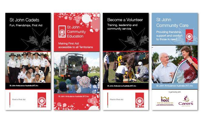 St john ambulance australia nt brochure suite martlette graphic st john ambulance australia nt brochure suite martlette graphic designer geelong stopboris Gallery