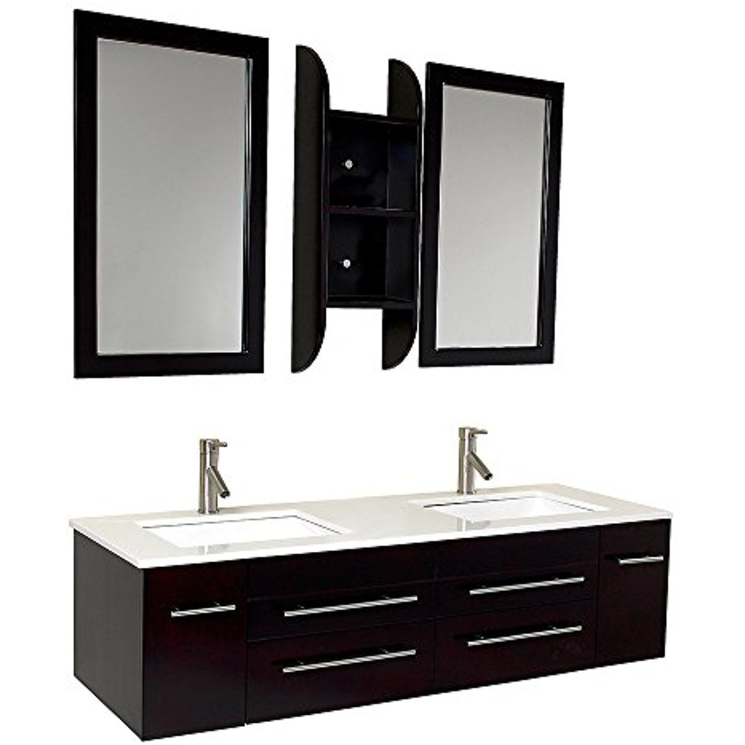Fresca Bath Fvn6119uns Bellezza Double Vanity Sink Espresso Check Out This Great