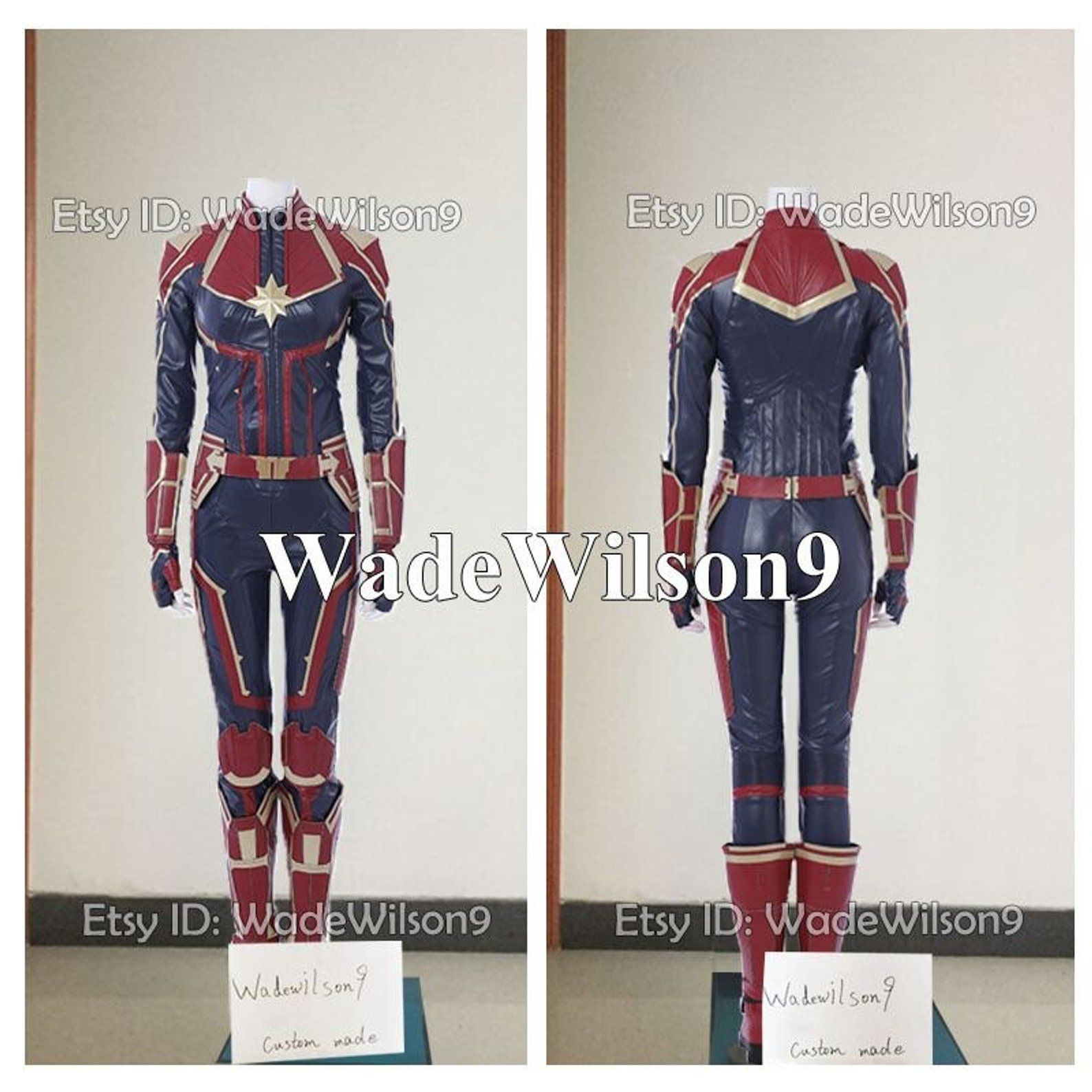Captain Marvel Ms Marvel Carol Danvers Cosplay Costumes Etsy Check out our captain marvel costume selection for the very best in unique or custom, handmade pieces from our costumes shops. pinterest