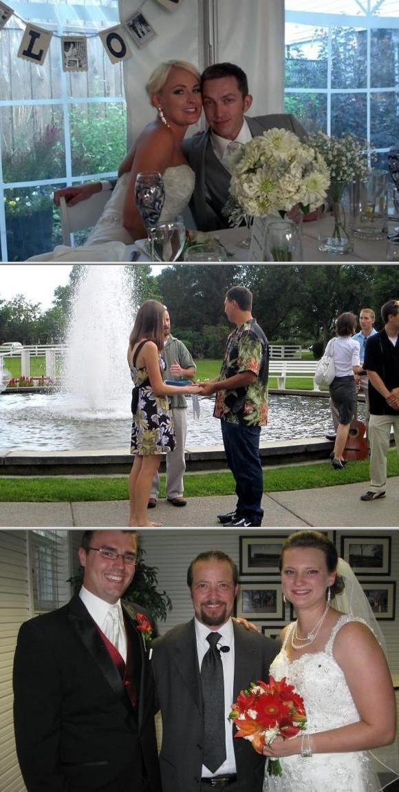 Jay is among the local wedding officiants who have been