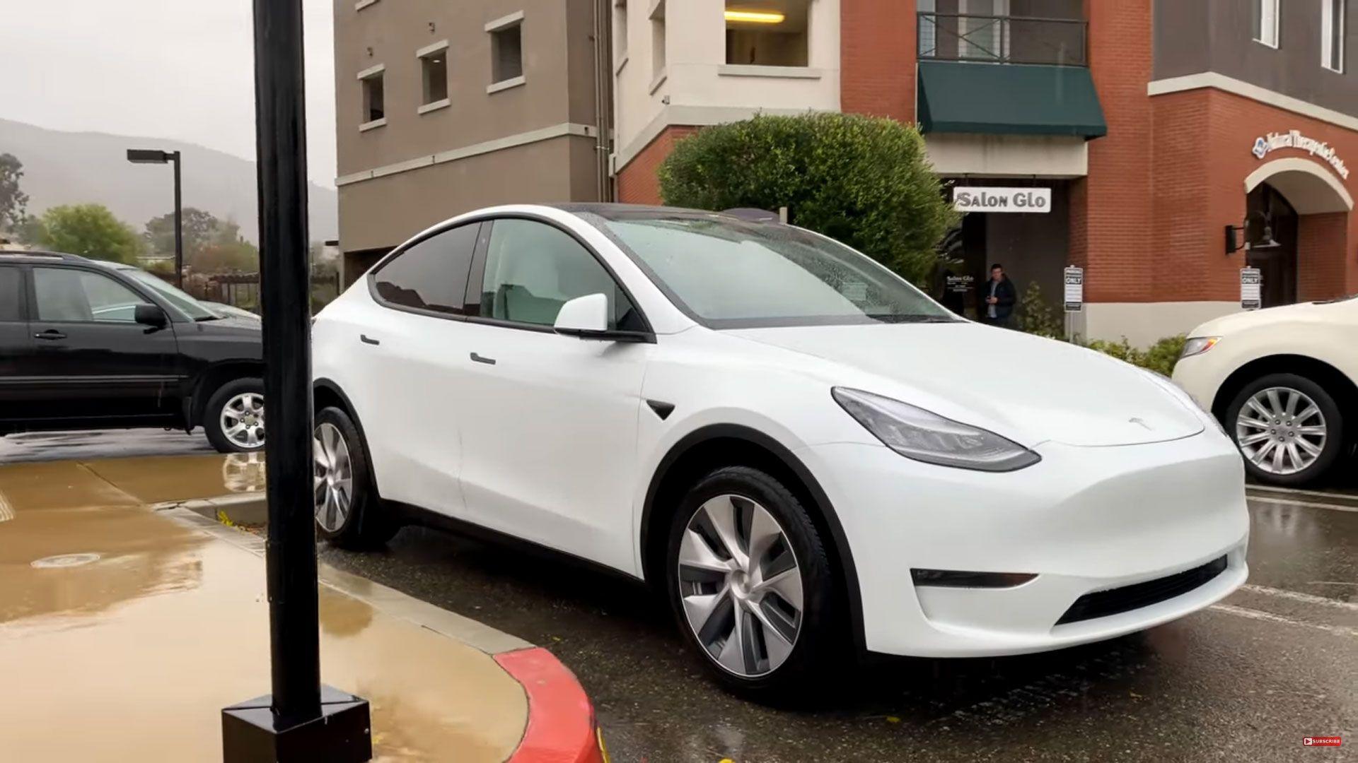 Model Y Performance Dazzling Drizzle San Luis Obispo A Stunning Video Tesla Tesla Model Tesla Model X
