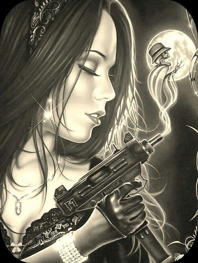 Gangster style | Drawing Artwork | Pinterest | Gangster ...