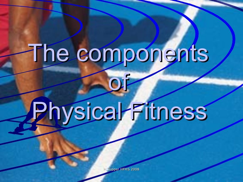 The Components Of Fitness Powerpoint I Found This Website