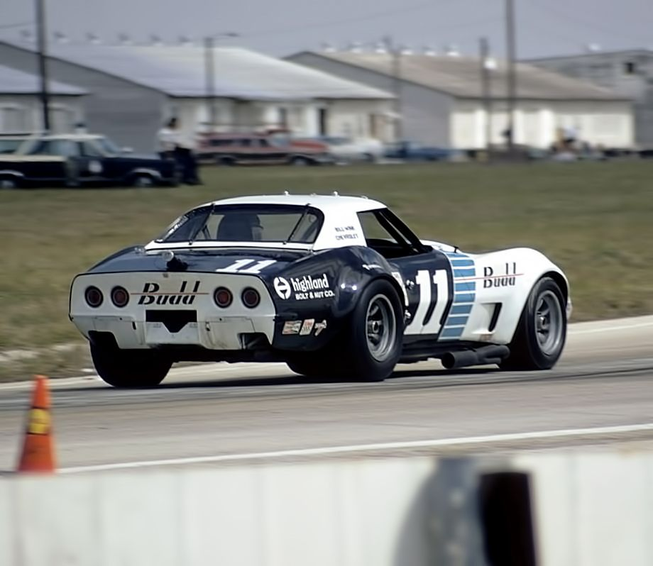 Sebring 1973 Chevrolet Corvette Delorenzo Durst Sports Car Racing Corvette Race Car Cool Sports Cars
