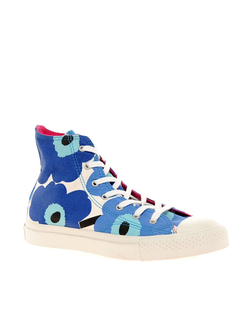 Converse Marimekko Hi Top Sneakers | Fashion, Converse