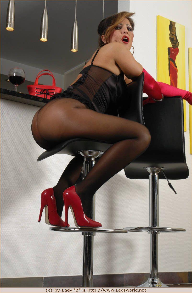 Speaking, Lady barbara high heels idea