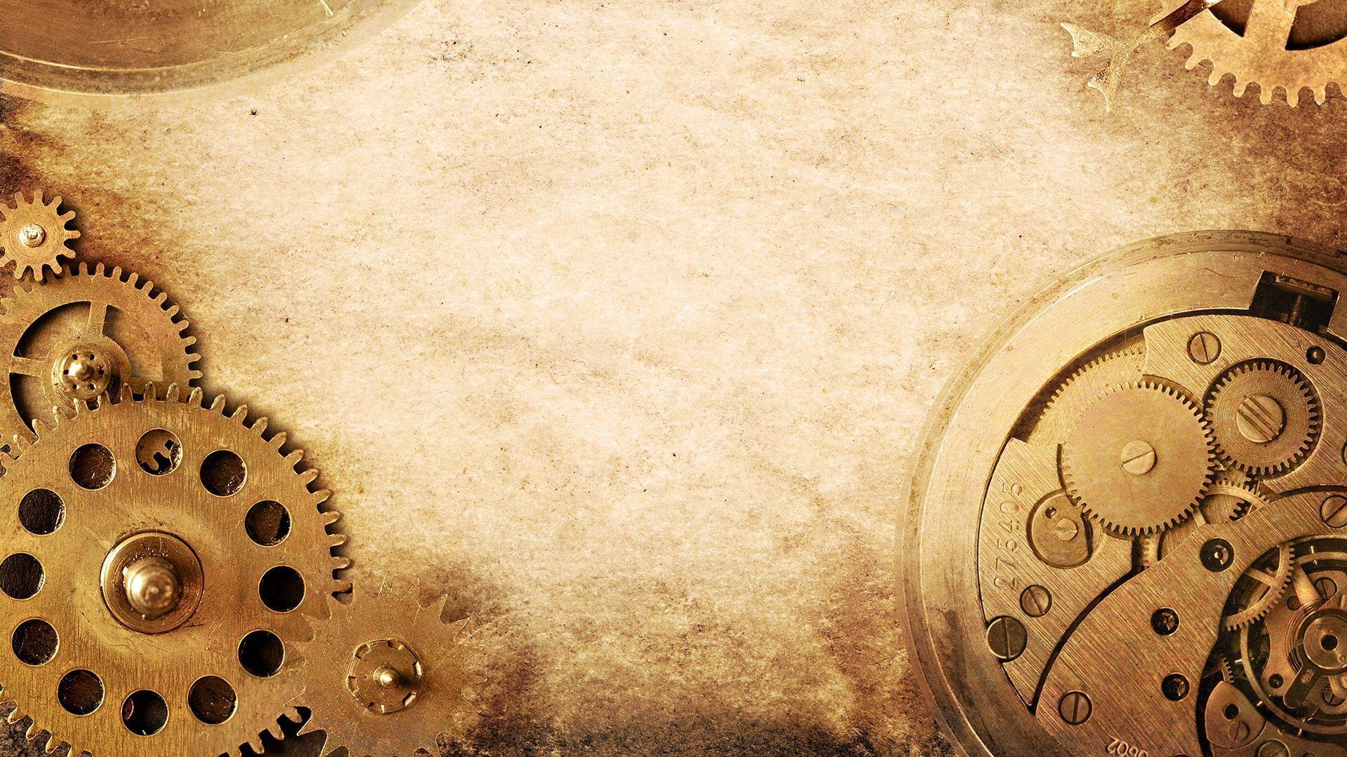 Technology Gears Clockwork Watches Steampunk Screw 1080p Wallpaper Hdwallpaper Desktop Grunge Paper Steampunk Wallpaper