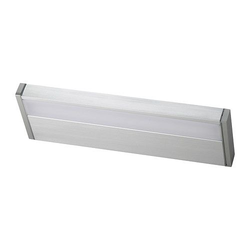 Godmorgon led kast wandlamp wall lighting an and cabinets - Zorgen voor een grote spiegel aan de wand ...