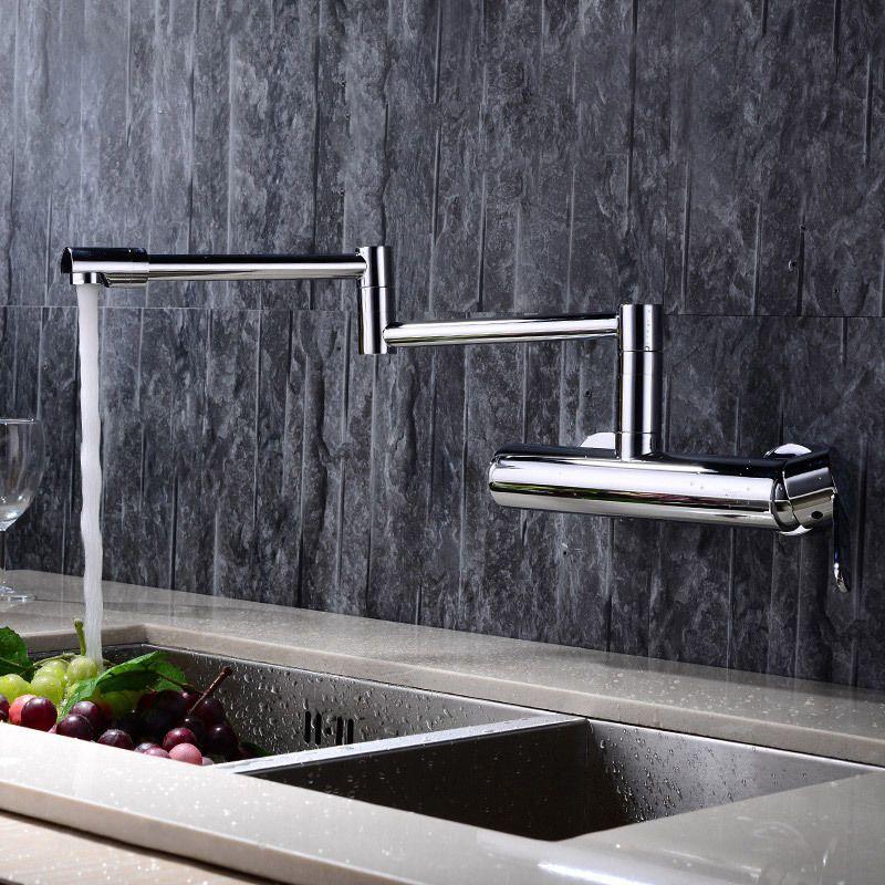 wall mounted swing arm kitchen sink