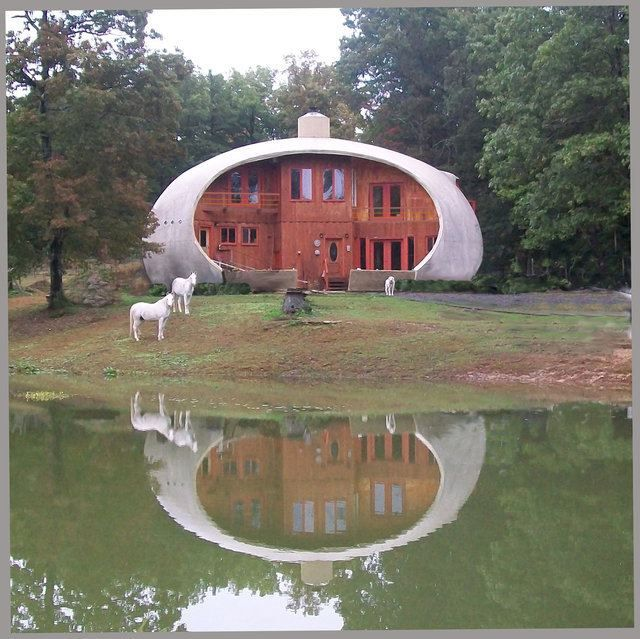 Construction Concrete Dome Home: This Beautiful Monolithic Dome Home In Cloudland, Georgia
