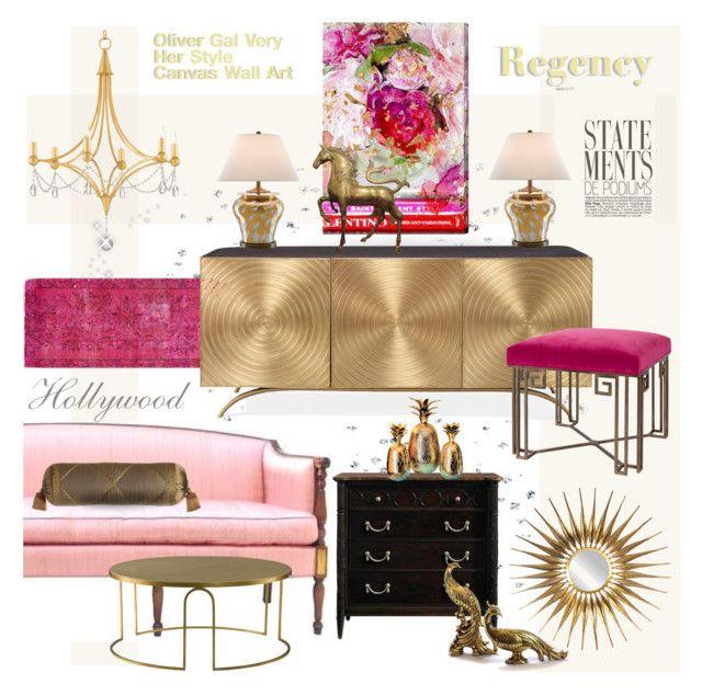 Hollywood Regency Her Style Hollywood Regency Living Room