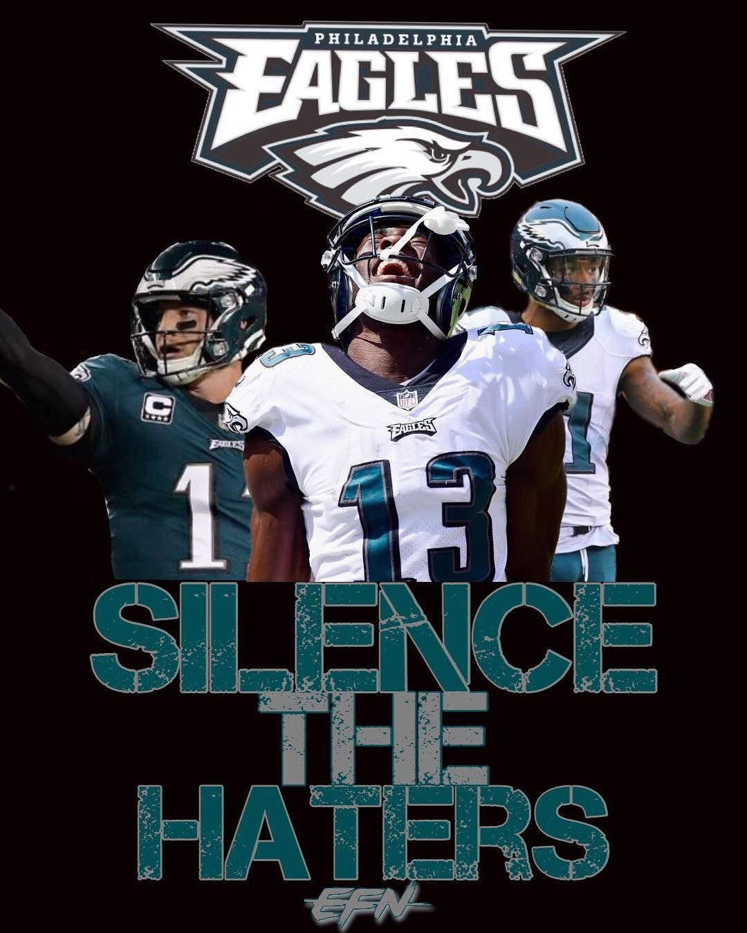 Just Made This Eagles Lockscreen I Thought It Was Fitting With Recent Events Dm Me Philadelphia Eagles Football Philly Eagles Philadelphia Eagles Super Bowl