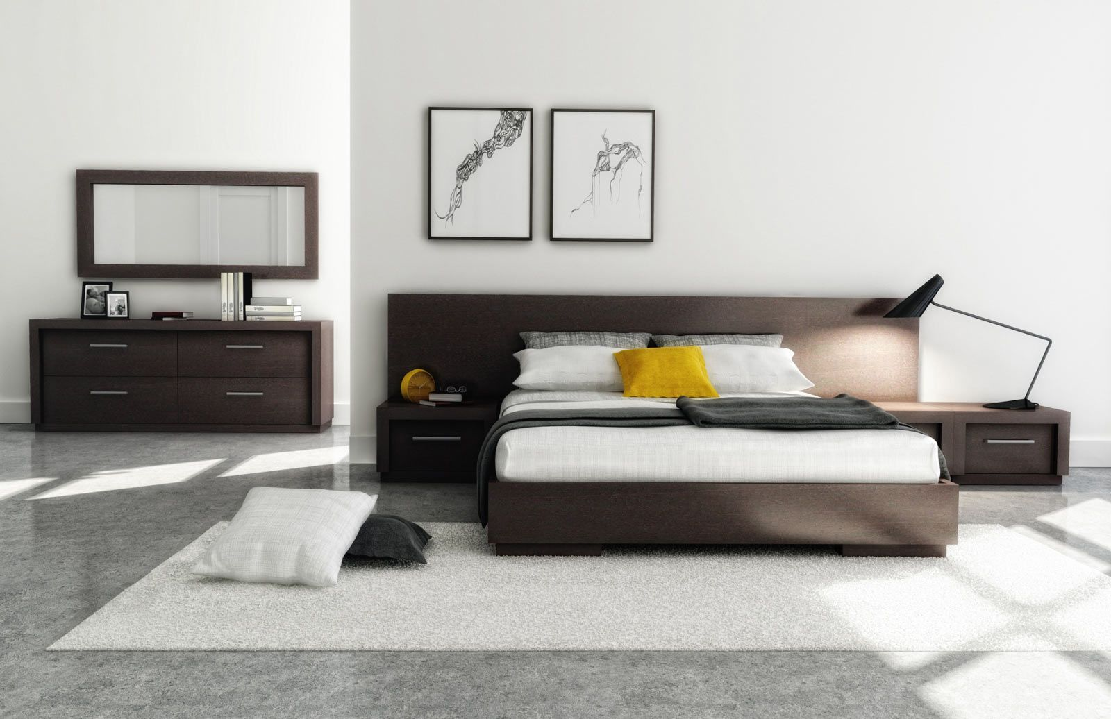 Modern Bedroom HUPPÉ - Sleeping : AMÉLIA Collection ...