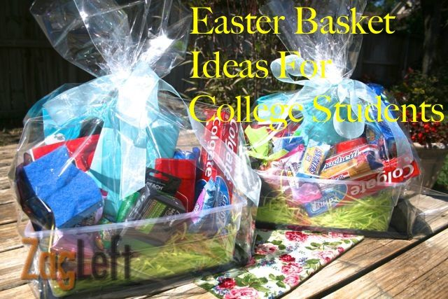 Easter basket ideas for college students basket ideas easter easter basket ideas easter basket ideas for college students negle Gallery
