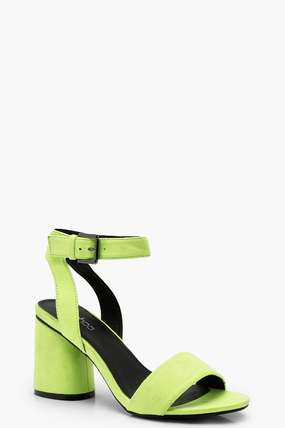 a7ee224022 Click here to find out about the Cylinder Heel Sandals from Boohoo