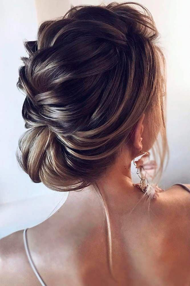 Stylish Braided Updo #updohairstyles #braidedhairstyles ★  Check out our collection of prom hairstyles for long hair. We have picked only the trendiest and most elegant hairstyles for you to look chic. ★  #glaminati #lifestyle #promhairstylesforlonghair