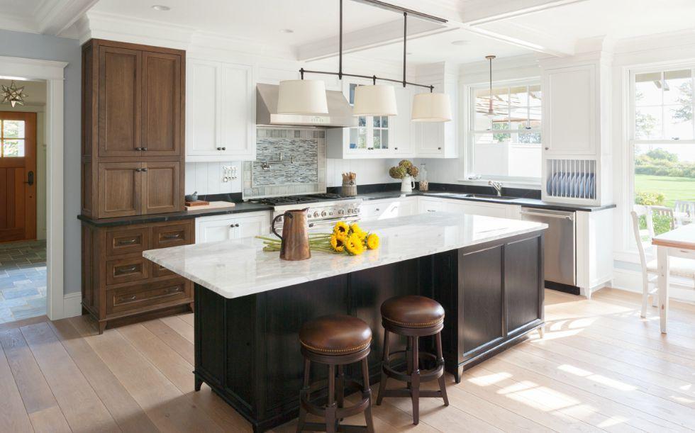 New Hampshire Coastal Residencejewett Farms  Co Kitchen Awesome Kitchen Designers Boston Decorating Inspiration