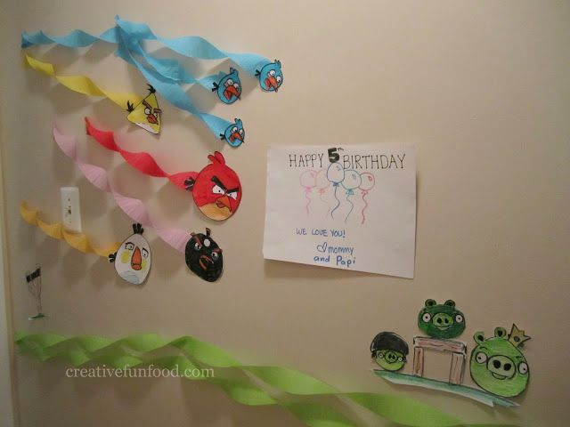 Creative Food: Angry Birds Birthday Party Ideas Like this.
