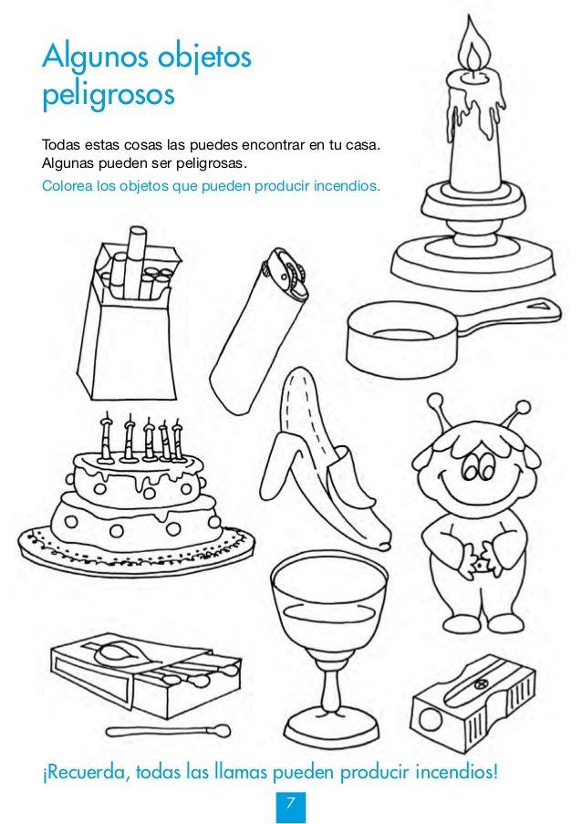Mi cuaderno de prevención de Incendios y otros riesgos 7-9