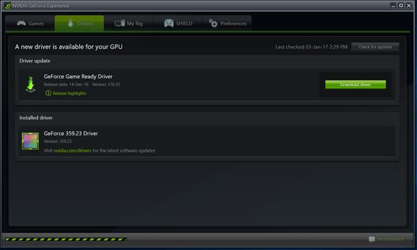 Nvidia Update Graphics Drivers Nvidia Call Of Duty Black Ops Iii New Drivers