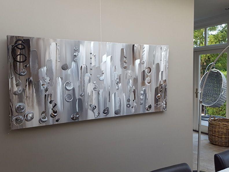 180 x 80 abstract taupe schilderij u2026 grote abstracte moderne