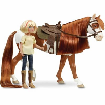 Breyer Spirit Riding Free Boomerang And Abigail Classics Gift Set