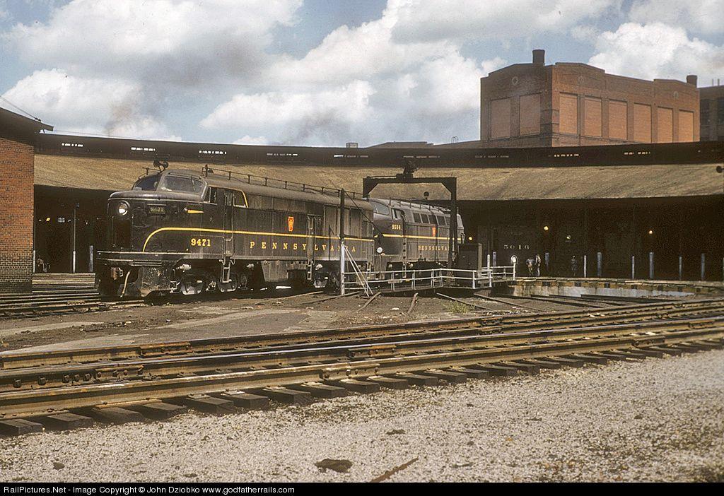 Pennsylvania Railroad Photographs   Historic Pittsburgh