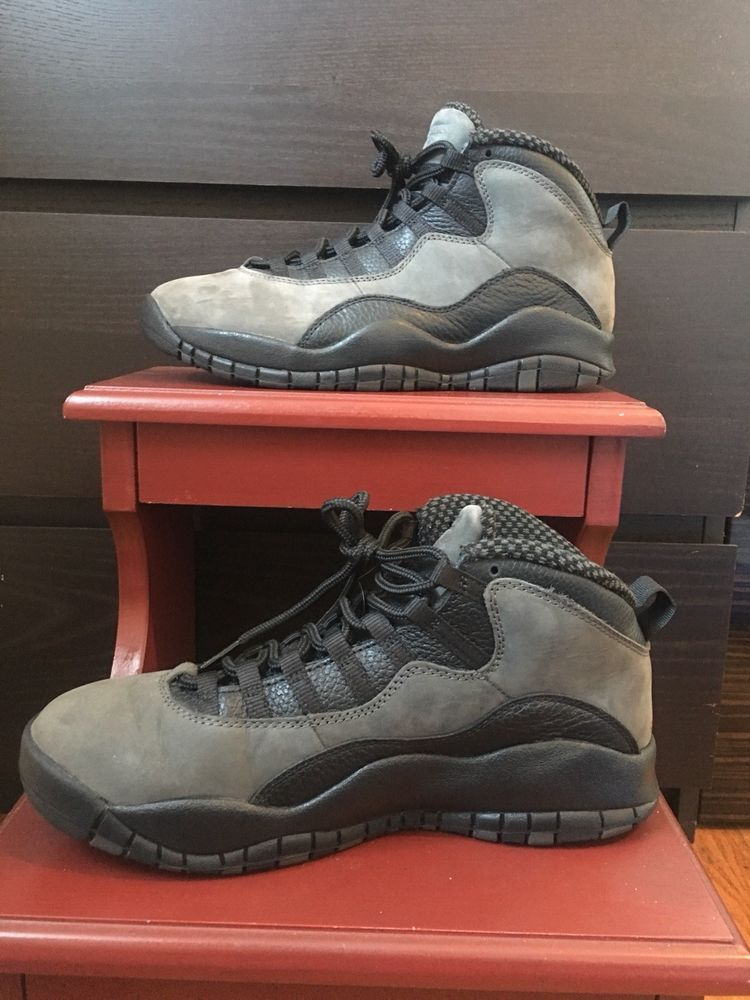 bec1f3c37bc713 Mens Jordan Retro 10 Sneakers. Dark Shadow Grey Suede. Size 9.5. Worn Once   fashion  clothing  shoes  accessories  mensshoes  athleticshoes (ebay link)