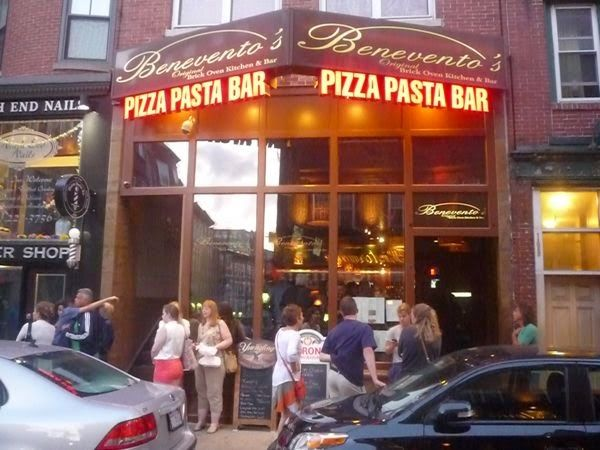 Freshly Made Pasta And Hand Tossed Brick Pizzas Highlight Benevento S Cozy Authentic Italian Restaurant Located In The North End Of Boston Machusetts