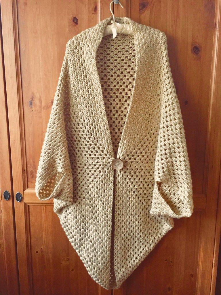 Granny Square Cardigan - Simple Things Crochet