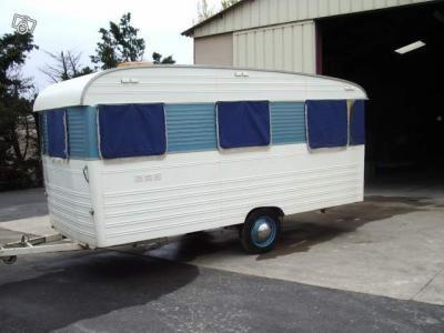 digue baronette 1961 caravanes camping cars vintages pinterest caravane caravane. Black Bedroom Furniture Sets. Home Design Ideas