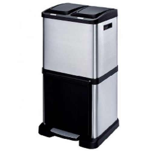 trio recycling bin 40 litre tower recycler | recycle bin