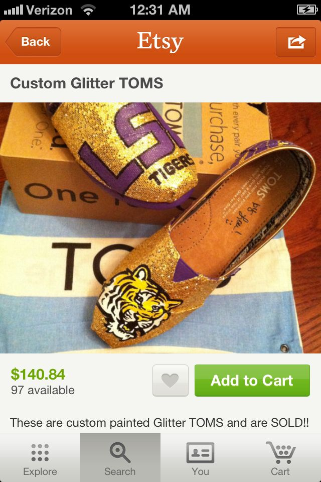 Game day Toms! Loveee