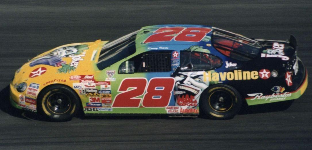kenny irwin jr s 28 joker havoline nascar vintage racing rh pinterest com race car color schemes