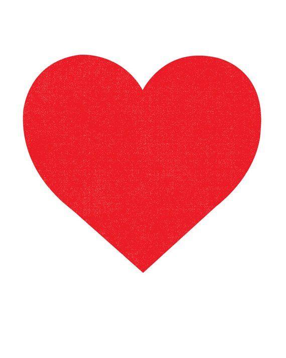 Valentine Red Heart Print Minimalist Screenprint Silkscreen Graphic Red Heart Modern Wall Art Heart Decor Simple Big Heart Print In 2021 Silkscreen Screen Printing Heart Drawing