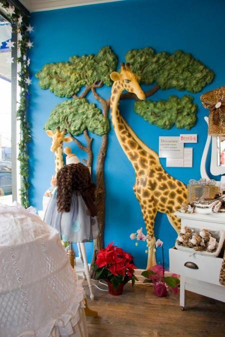 Safari Playroom - this is cool. | BABY | Pinterest | Playrooms, Play ...