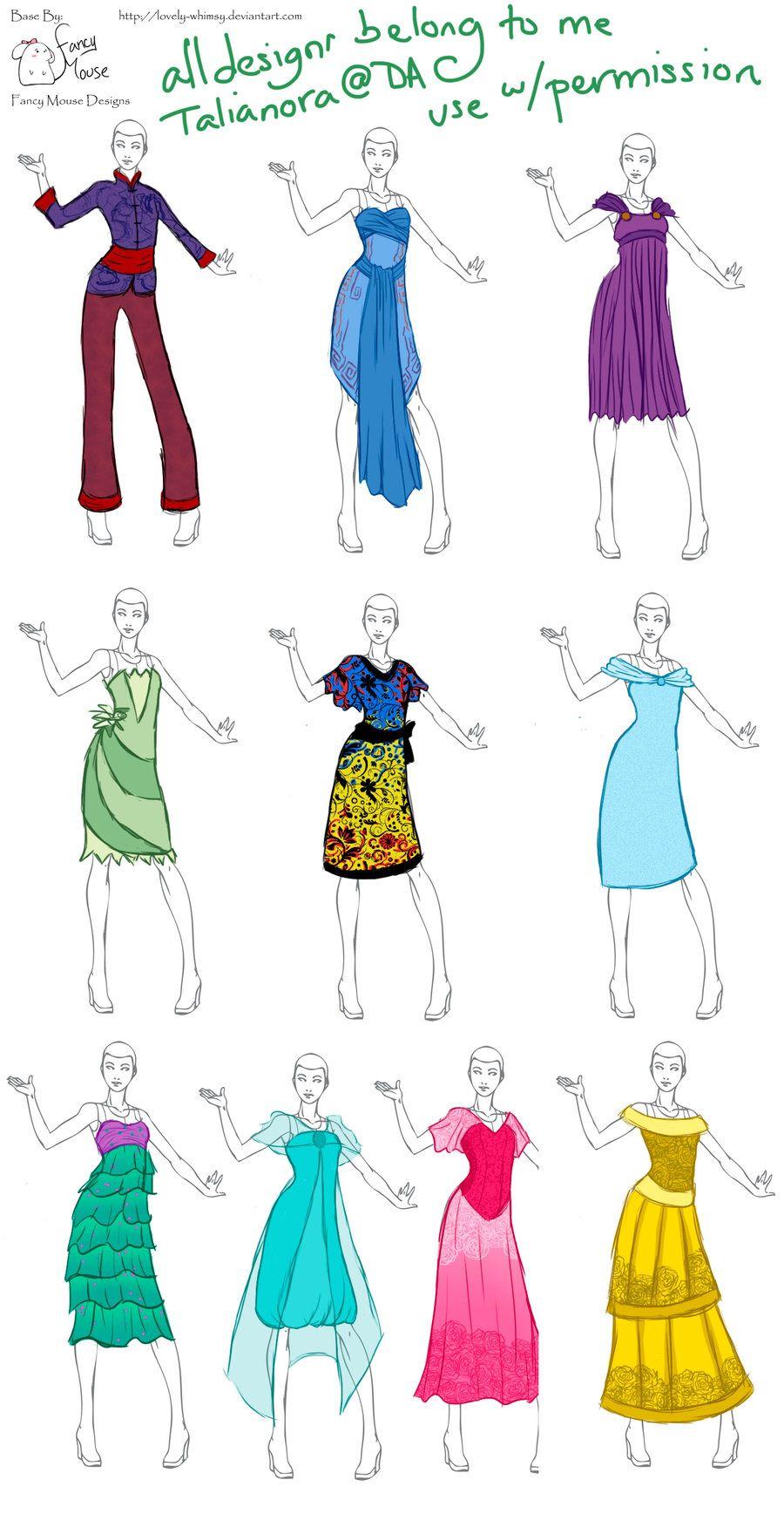 Modern Disney By Talianora On Deviantart Disney Princess Fashion Fashion Drawing Dresses Fashion Drawing Tutorial