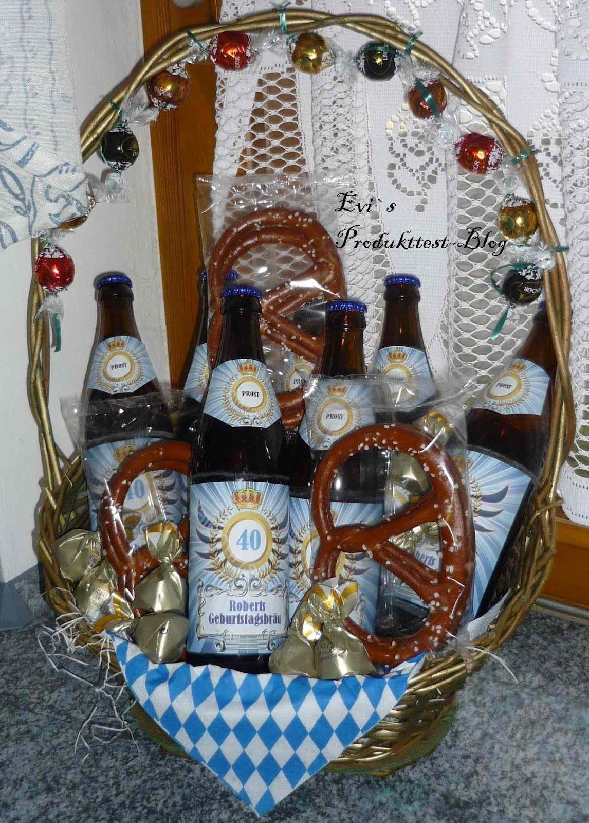 Letzte Woche Hatte Mein Mann Seinen Geburtstag Und Bekam Tolle Und  Originelle Geschenke Geschenkt. Unter Anderem Eine Bier Kur Mit