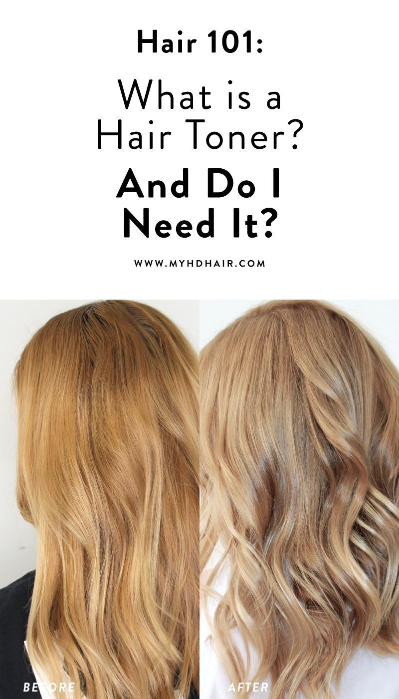 Hair 101 What Is A Hair Toner And Do I Need It In 2020 Hair