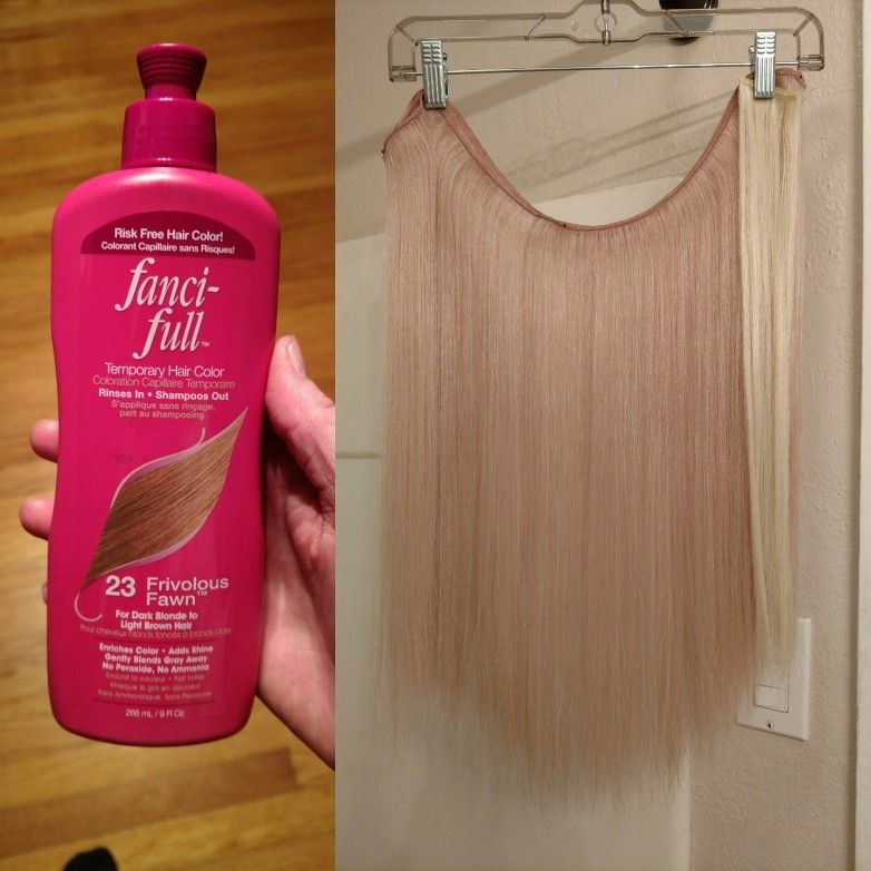 Its Temporary And Should Wash Out But The Best Cheapest And
